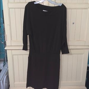 Ann Taylor Brown Dress